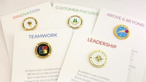 Recognize Employees Card and Pin